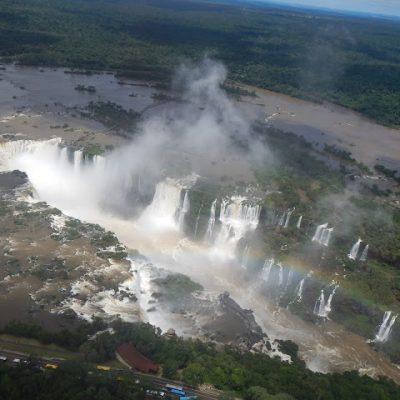 Cataratas de Iguazú en helicóptero (Brasil)