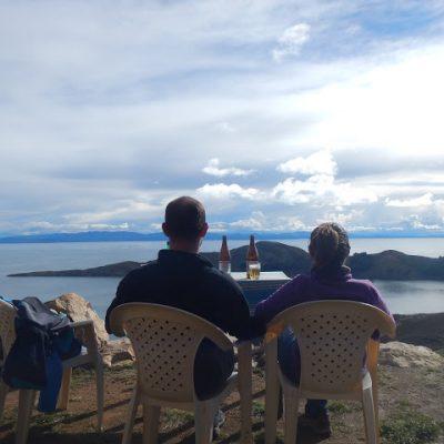 El lago Titicaca: Isla del Sol