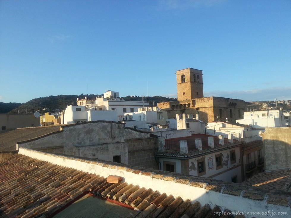 vistas terraza museo Soler Blasco Xàbia