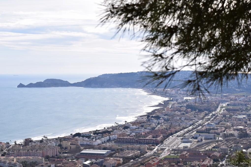 vistas litoral Xàbia molinos