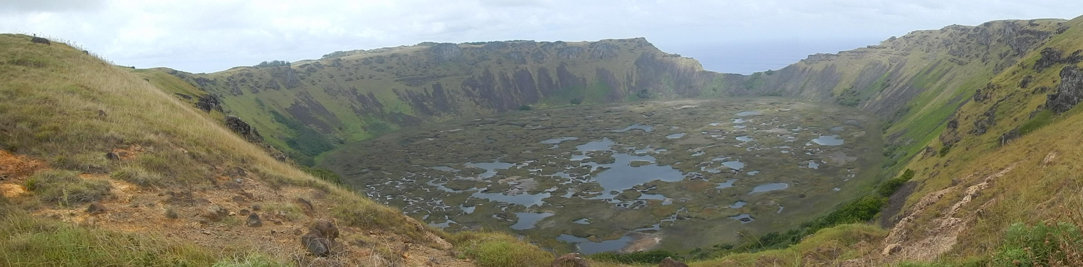 panoramica crater rano kau