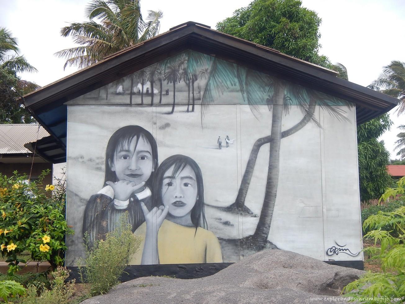 Mural hanga roa
