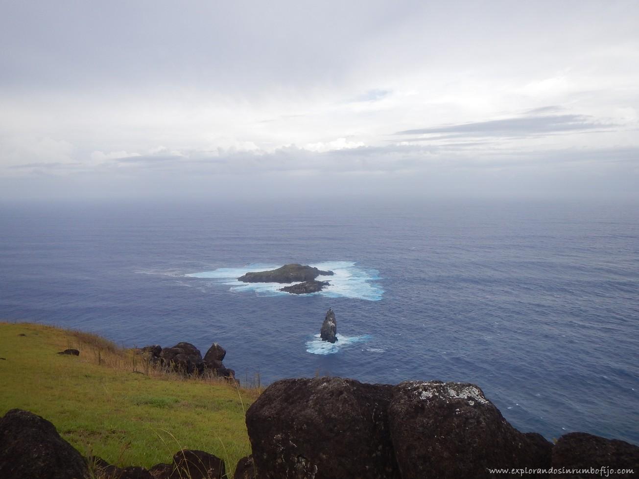 islotes Motu Nui, Motu Iti y Motu Kau Kau