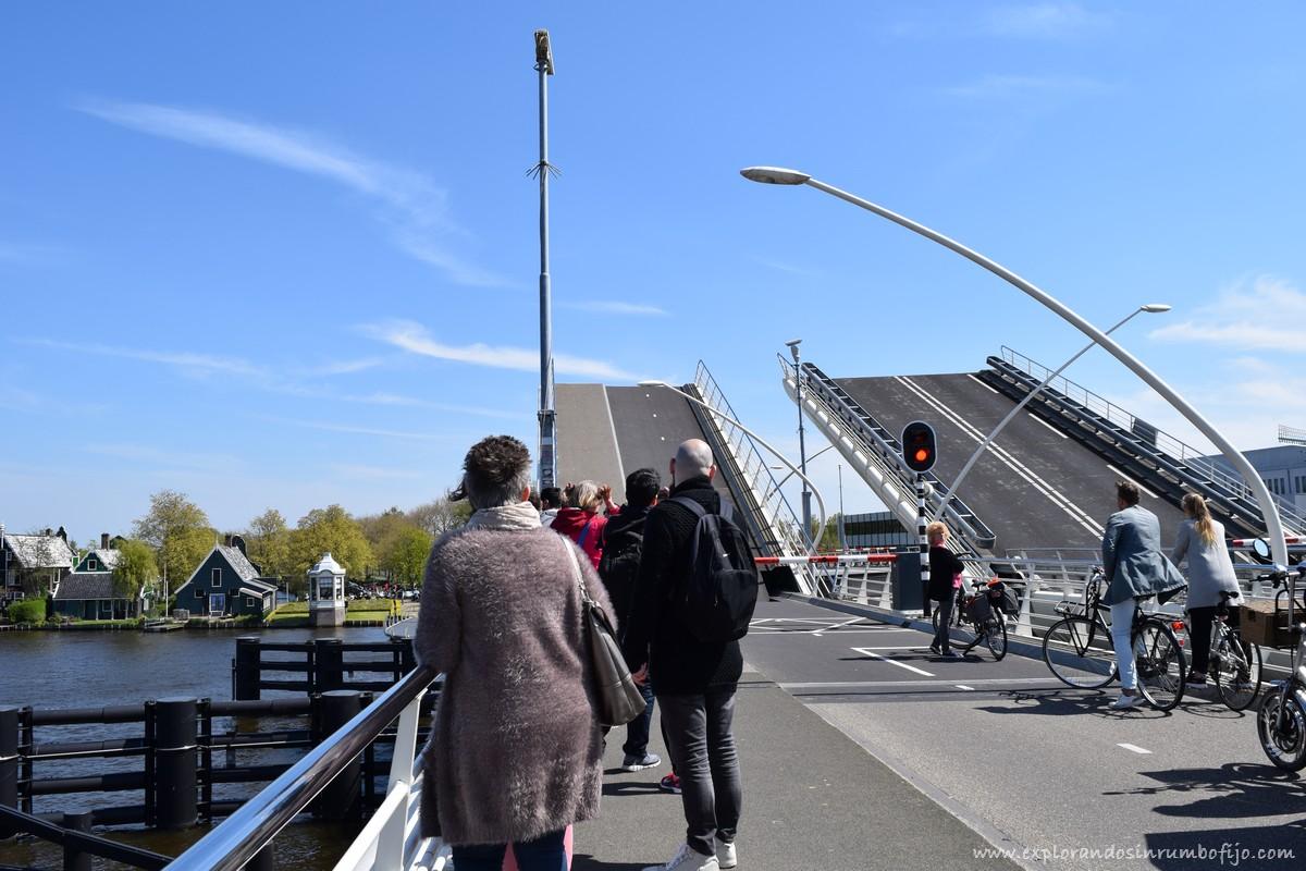 Puente levadizo zaanse schans
