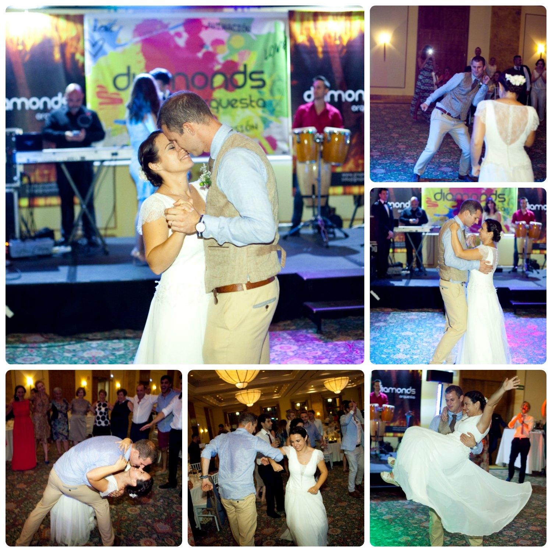 Baile boda viajera
