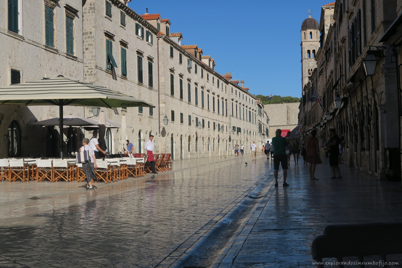 Calle Stradun Placa