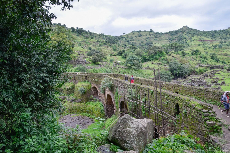 puente portugués Tis Issat cataratas nilo azul