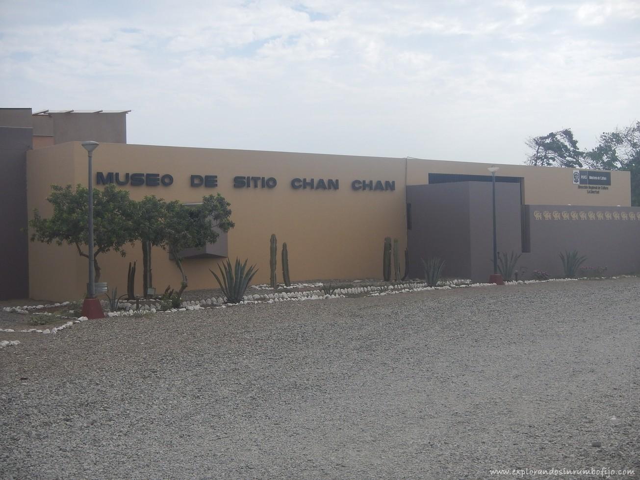 Museo de sitio chan chan trujillo