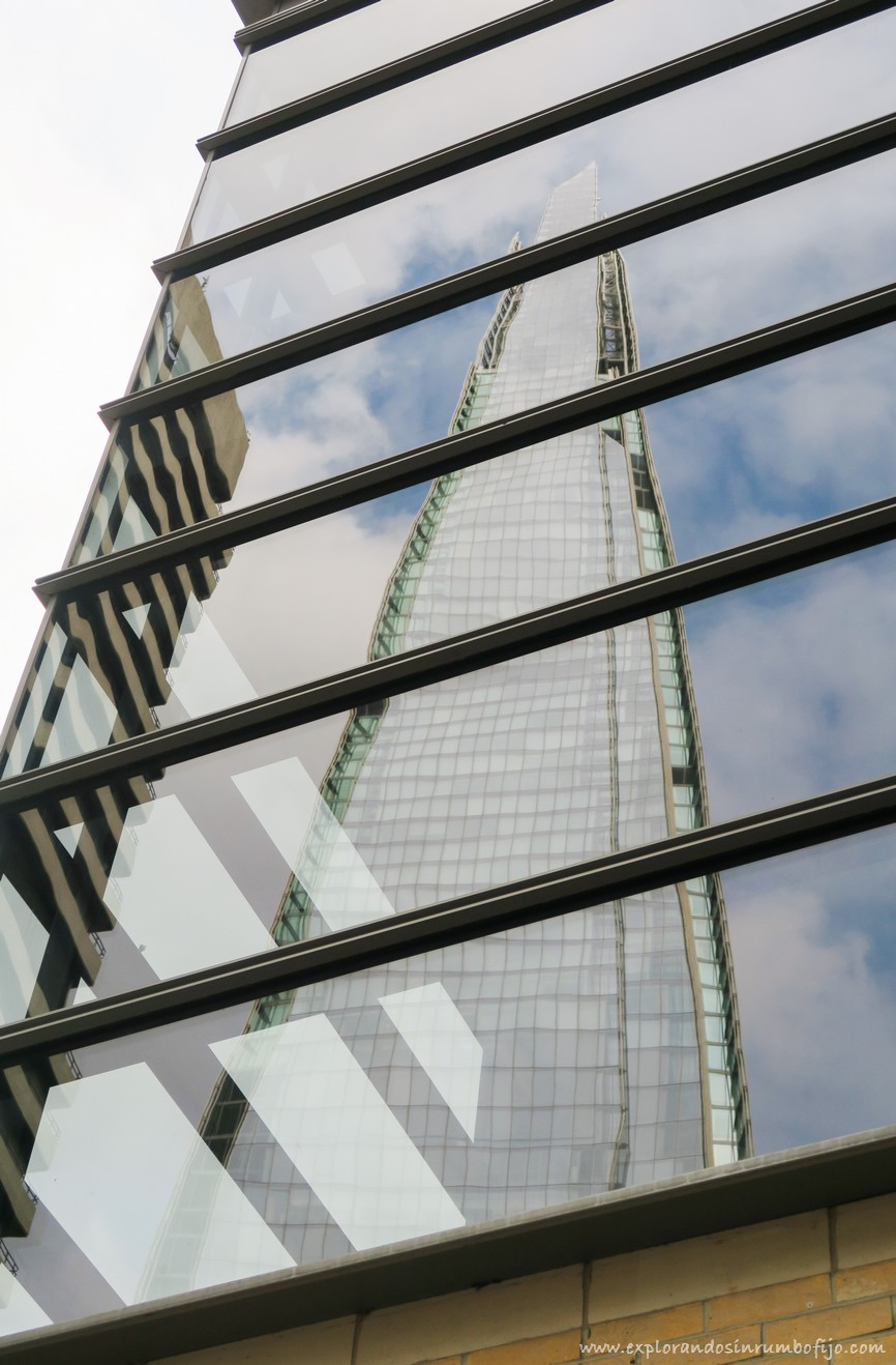 the shard reflejos