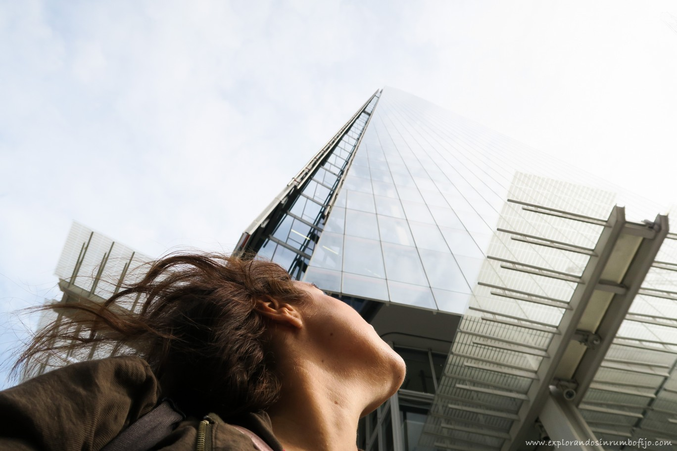 Debajo de The Shard