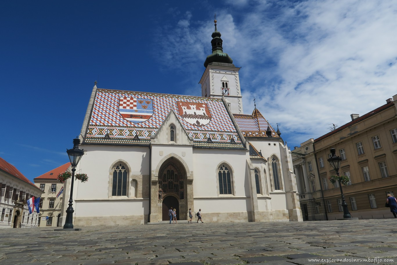 Iglesia San Marcos zagreb