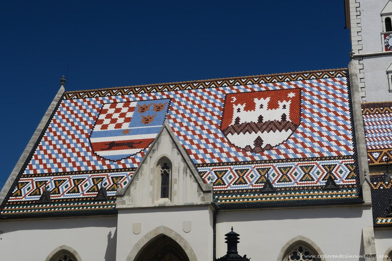 Escudos Iglesia San Marcos