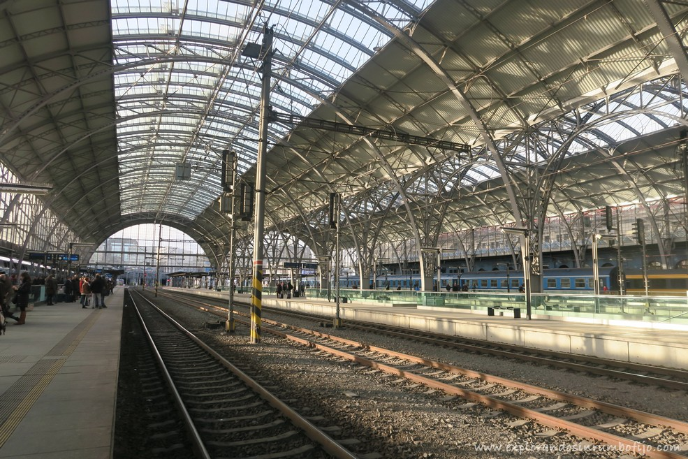 Estación tren Praga
