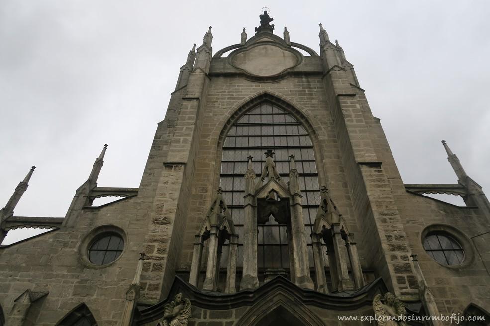 Iglesia de nuestra Señora de la Asunción y San Juan Bautista Kutna Hora