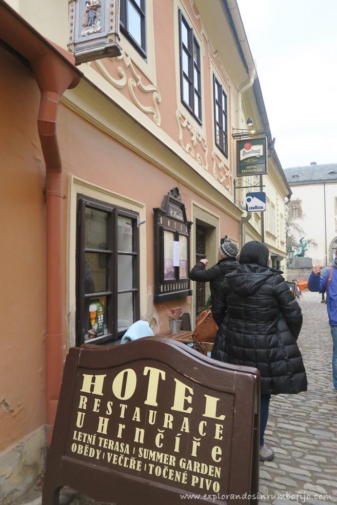 Restaurante U Hrncire Kutna Hora