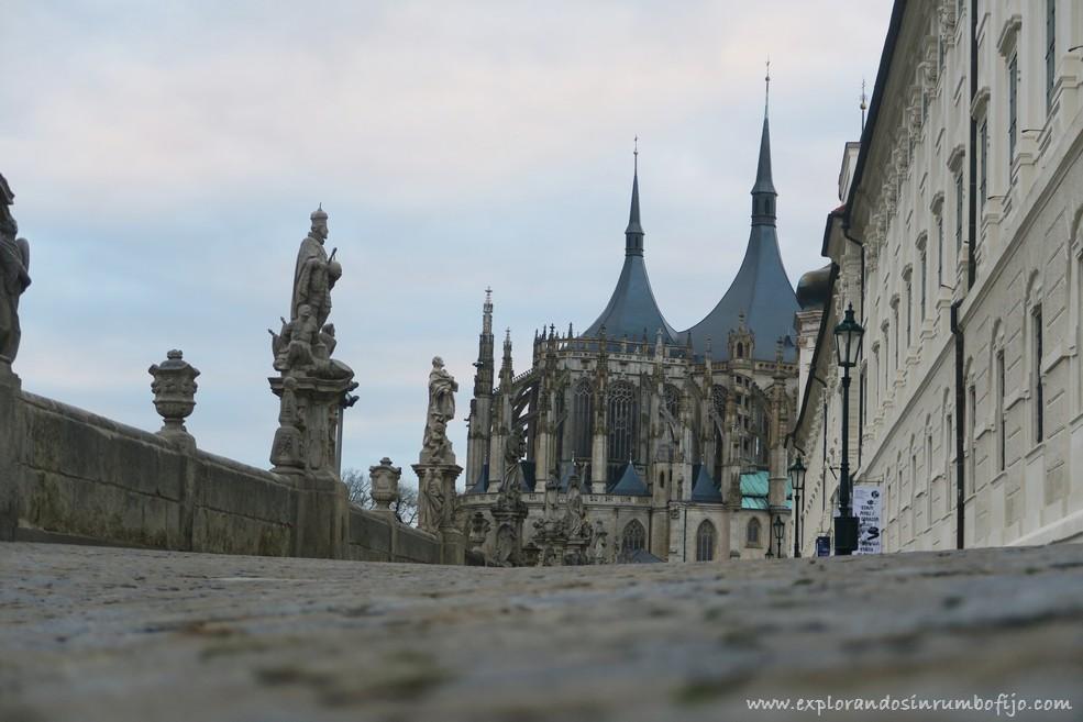 Catedral Santa Bárbara Kutná Hora