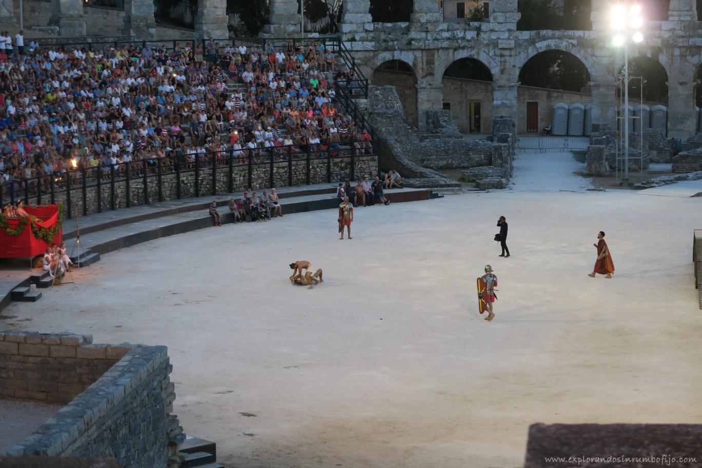 Gladiadores Pula
