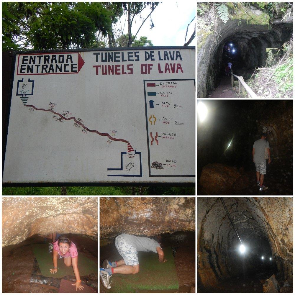 tuneles lava santa cruz