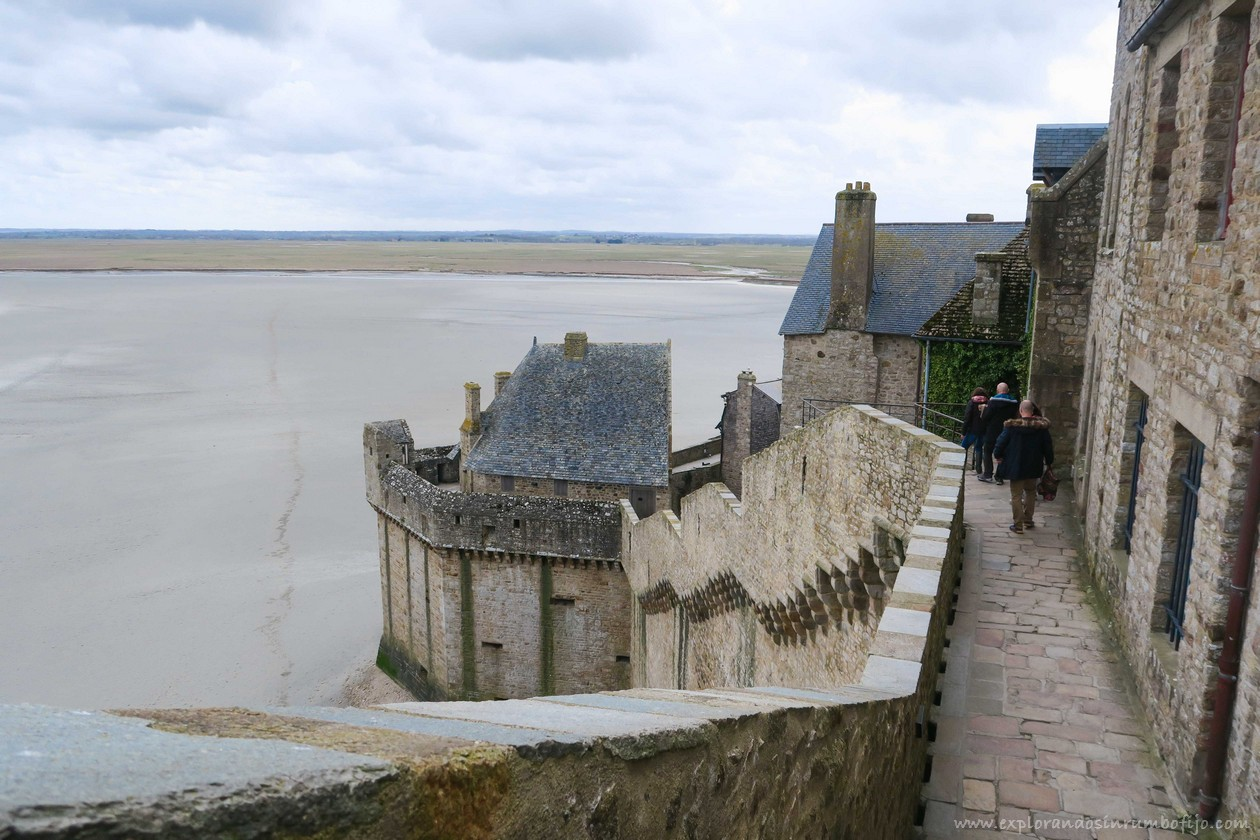 murallas mont saint michel