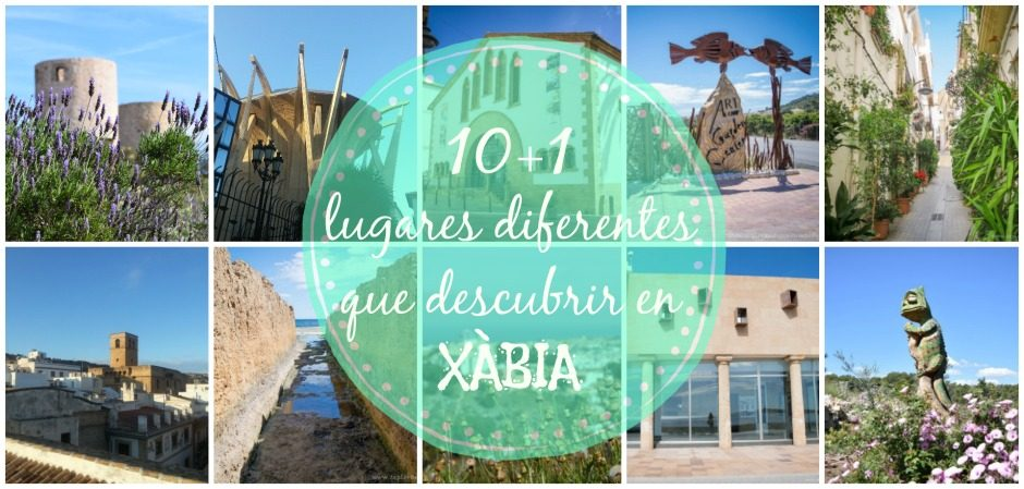 10+1 lugares diferentes que descubrir en Xàbia
