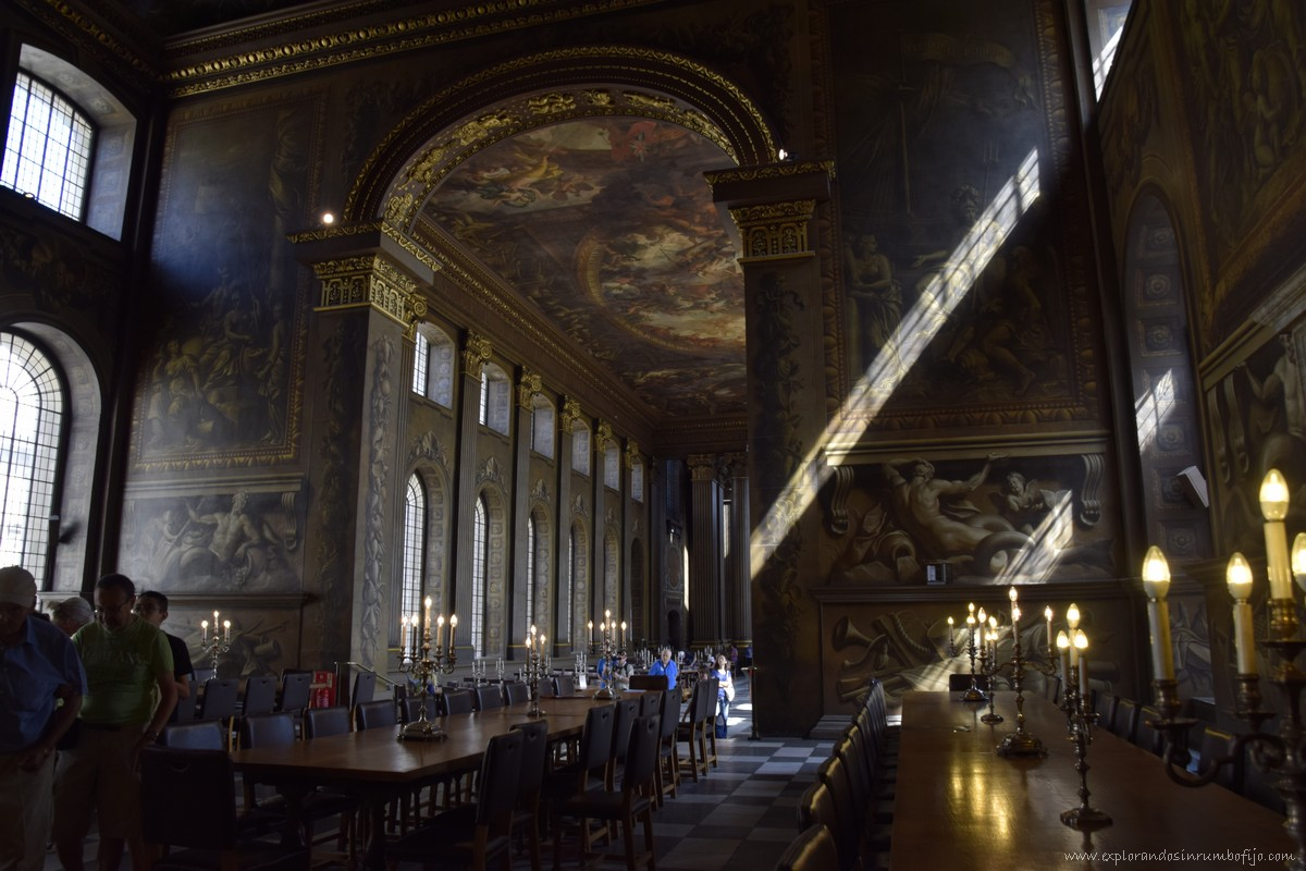 Old royal naval college chappel