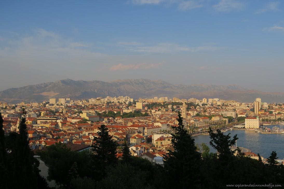 Vistas colina Marjan