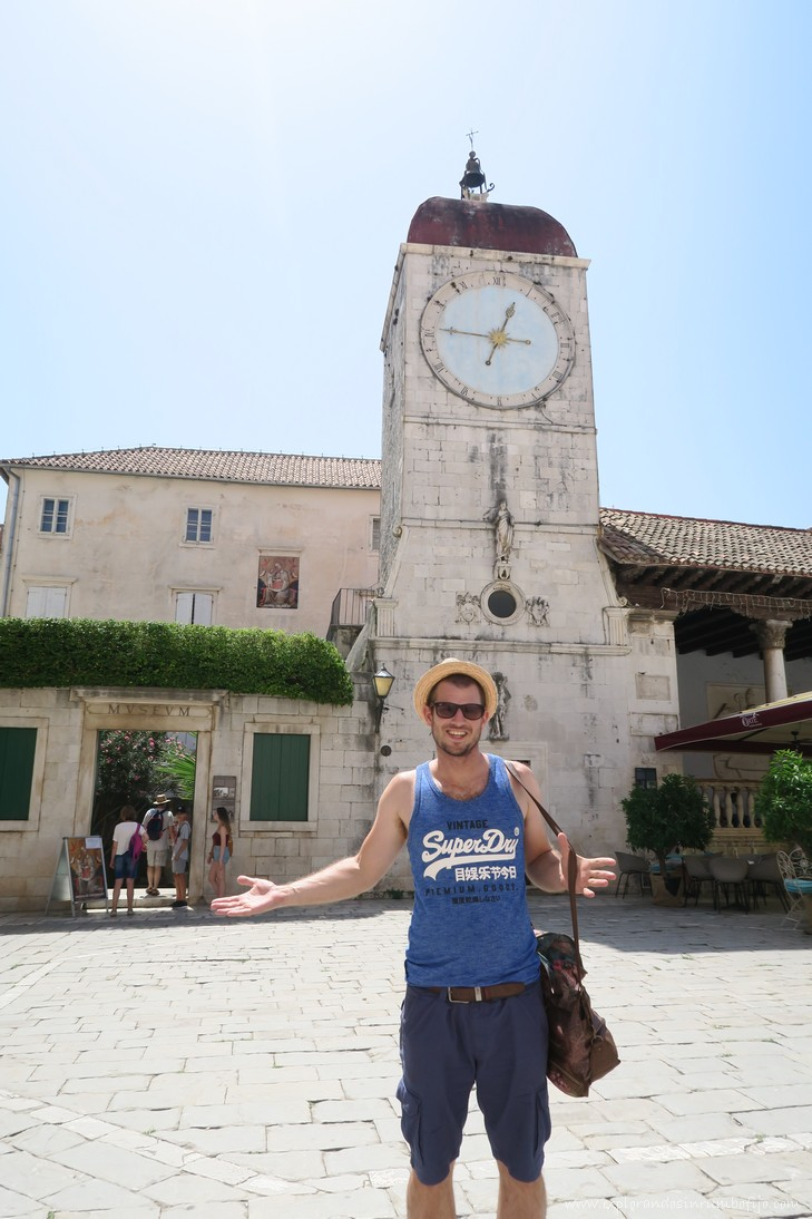 Torre reloj Trogir