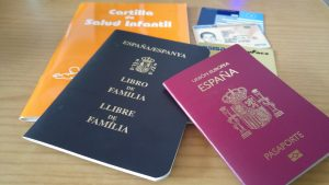 documentación viajar bebe meses