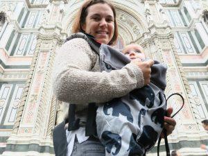 porteo viajar bebe