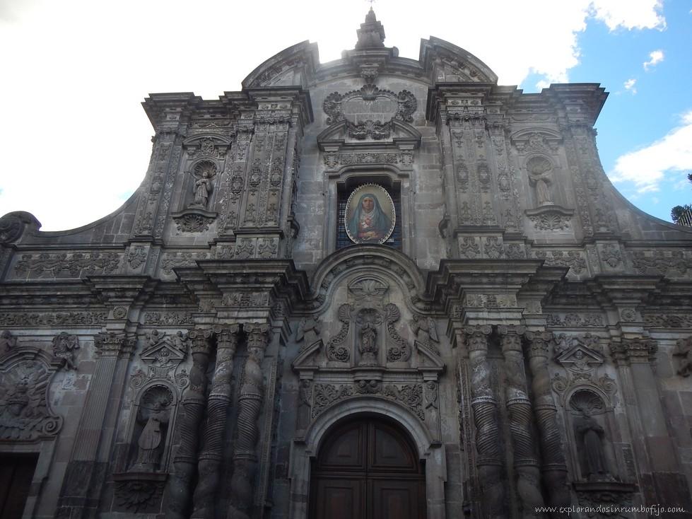 Iglesia compañía de Jesús Quito