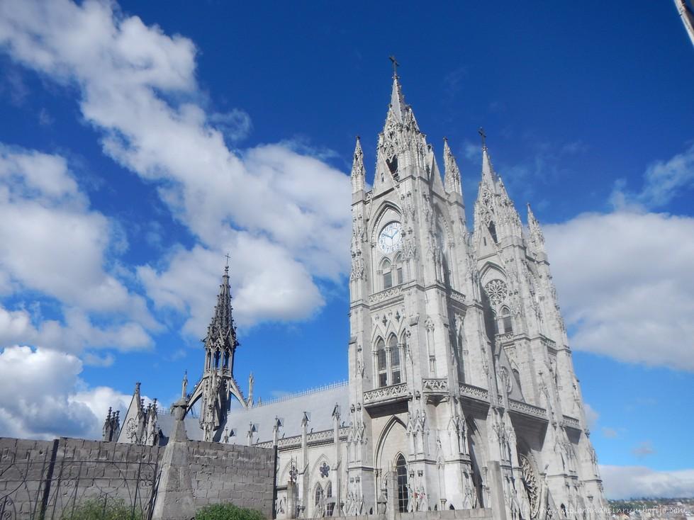 Basílica voto nacional quito