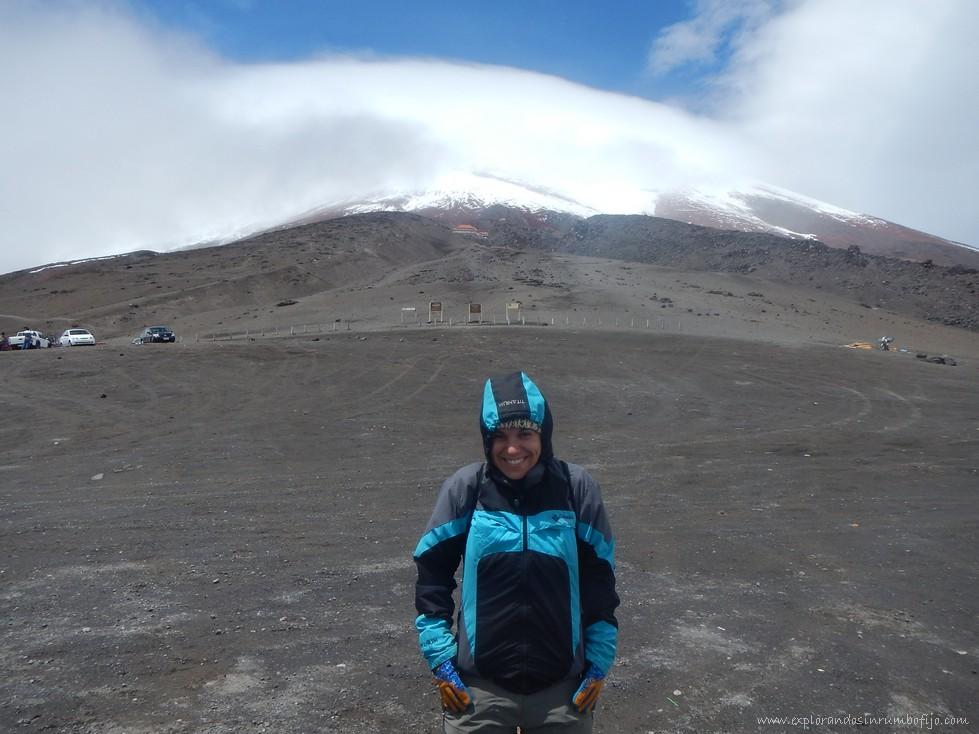 base volcán cotopaxi