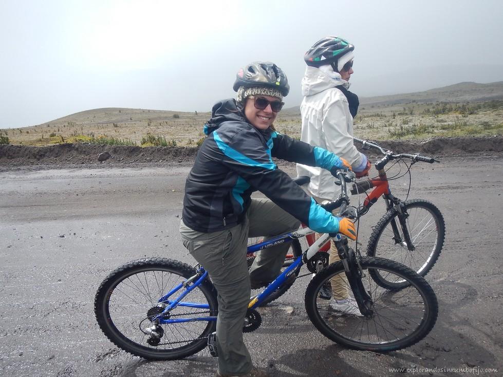 Descenso bicicleta cotopaxi