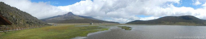 panorámica cotopaxi laguna