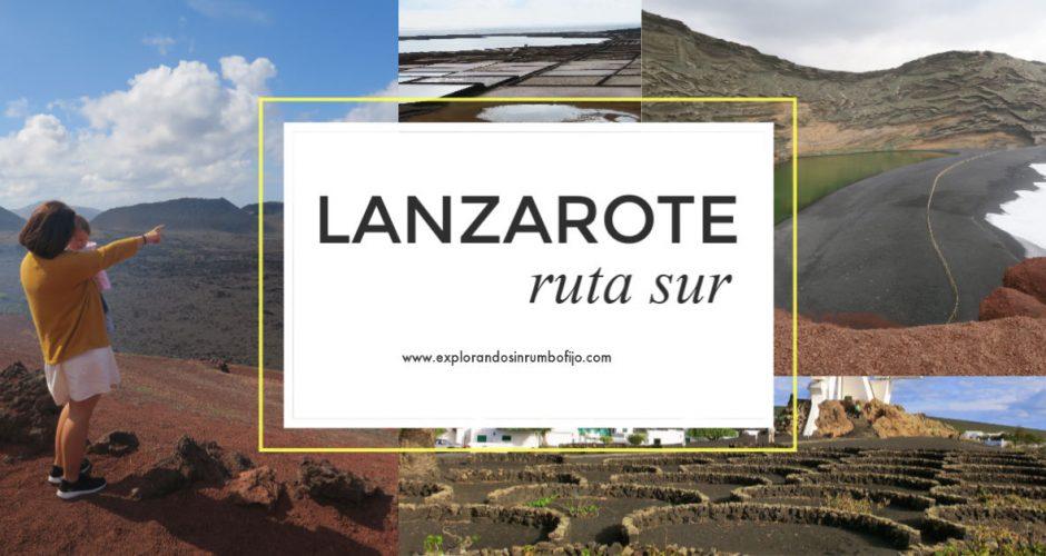 Ruta por el Sur de Lanzarote