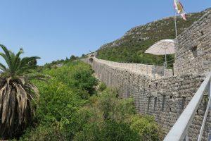 muralla ston croacia