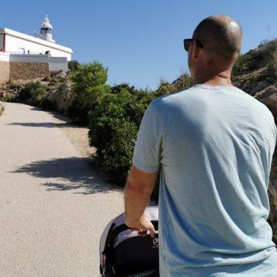 Ruta al Faro del Albir con niños pequeños