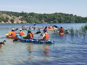 kayak laguna del rey