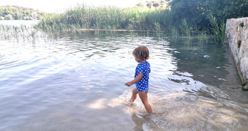 Laguna del rey niños